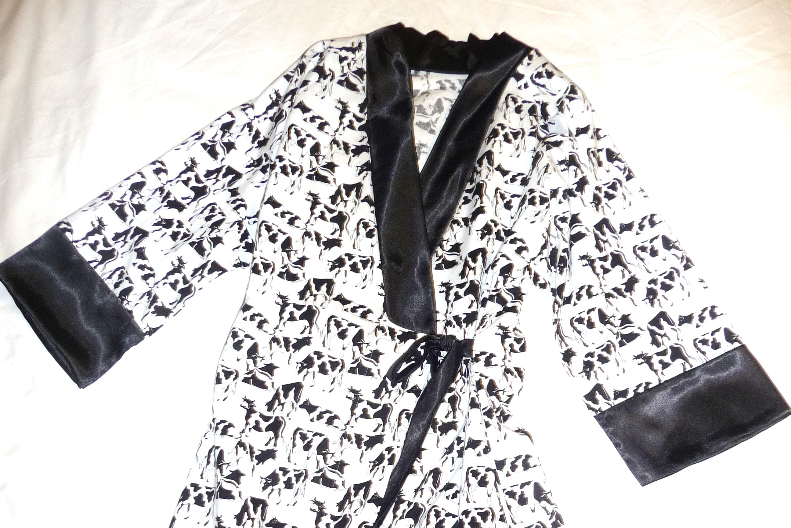 How Now Black+White Cow? « CherryPix : SewingPix