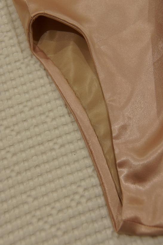 Arm scye binding